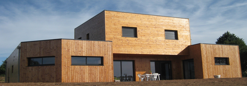 maison bois douglas