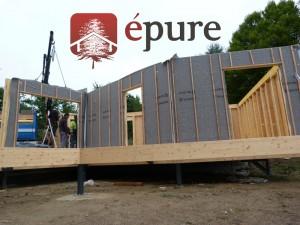 maison ossature bois cransac épure construction bois