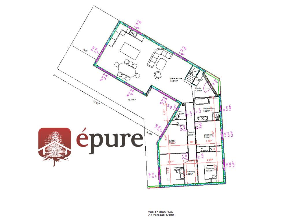 Plan Amnagement Maison Proposition Intrieur De La Maison Plan Maison 3d Logiciel Gratuit  # Logiciel Plan Ossature Bois Gratuit