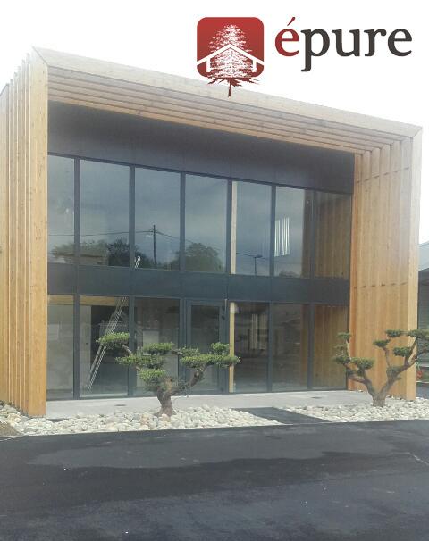Construction Bois Toulouse : Construction bureau ossature bois Toulouse – epure bois