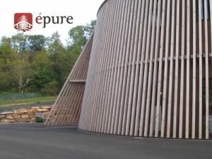 bâtiment tertiaire ossature bois douglas EPURE