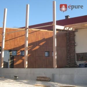 bâtiment tertiaire bois douglas EPURE