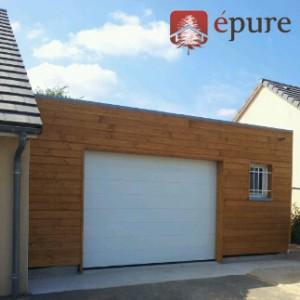 extension en ossature bois douglas epure construction bois