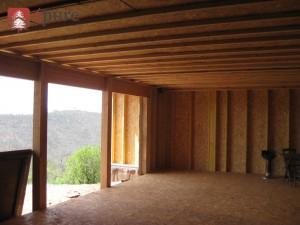 extension ossature bois douglas epure construction bois