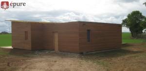 maison ossature bois douglas a Balsac epure construction bois