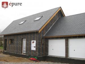 maison bois La Primaube epure construction bois